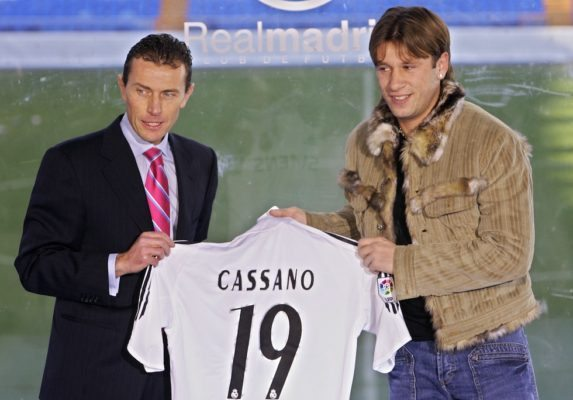 Players Who Failed At Real Madrid - Cassano