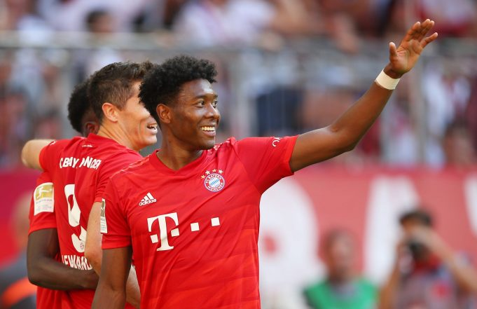 David Alaba's Agent In Talks With Real Madrid Over A Free Move