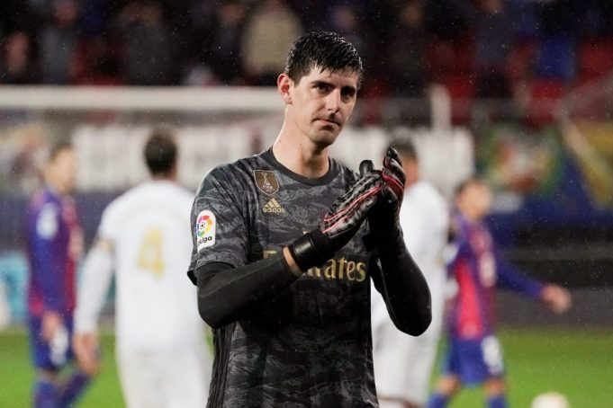 Real Madrid start was tough because of Navas - Courtois