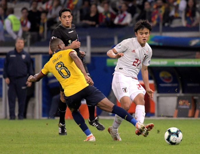 Takefusa Kubo Admits Playing For Real Madrid Is Daunting
