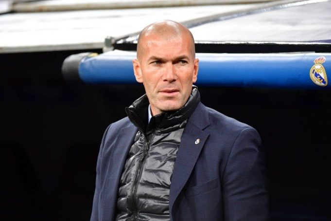 Zidane briefs on massive Atletico derby clash