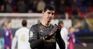 Courtois blasts La Liga