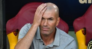 Zidane - Not happy with the game tonight