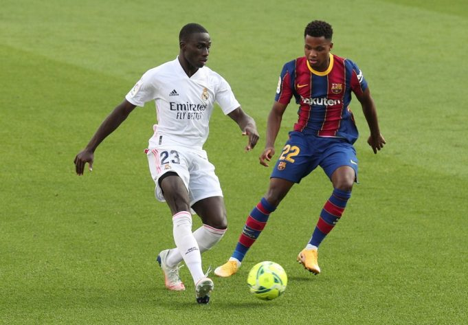 Ferland Mendy I'm Not A First-Choice Left-Back At Real