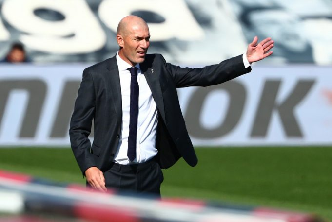 Zidane talks about Real's form and his job