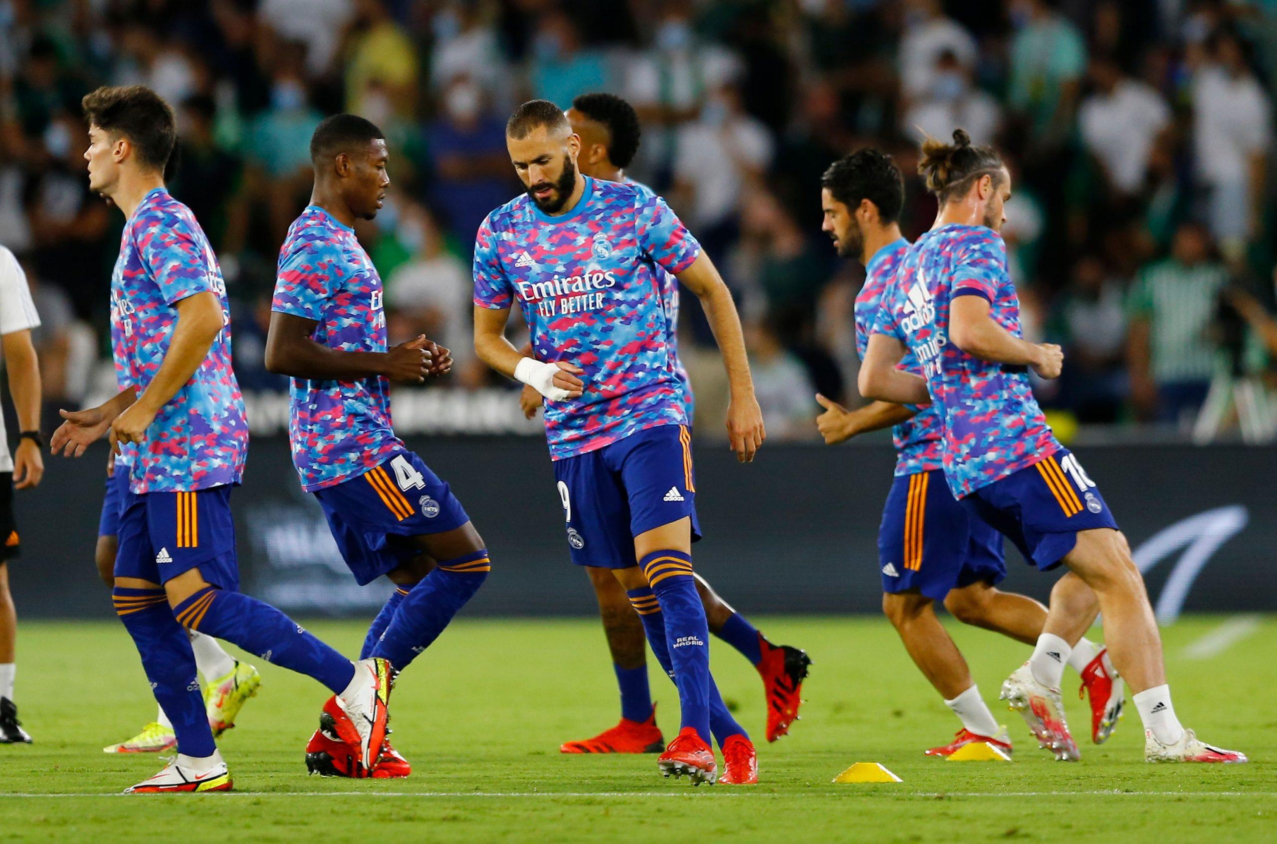 Real Madrid Predicted Line Up vs Celta Vigo