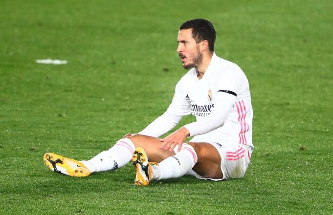 Eden Hazard Won't Recover In Time For Liverpool Fixture