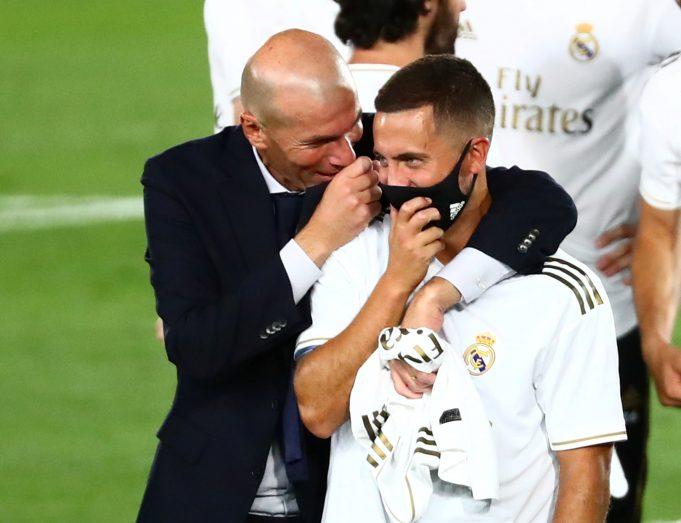 Eden Hazard sends message to Zidane after Chelsea draw