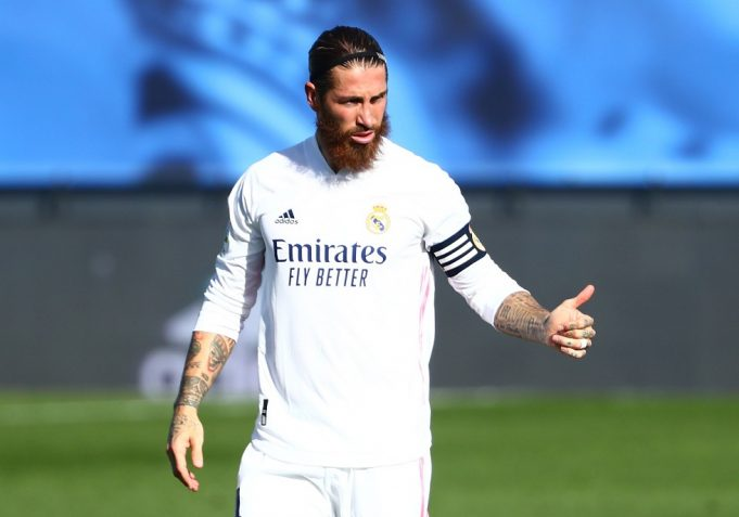 Sergio Ramos to miss CL clash against Liverpool