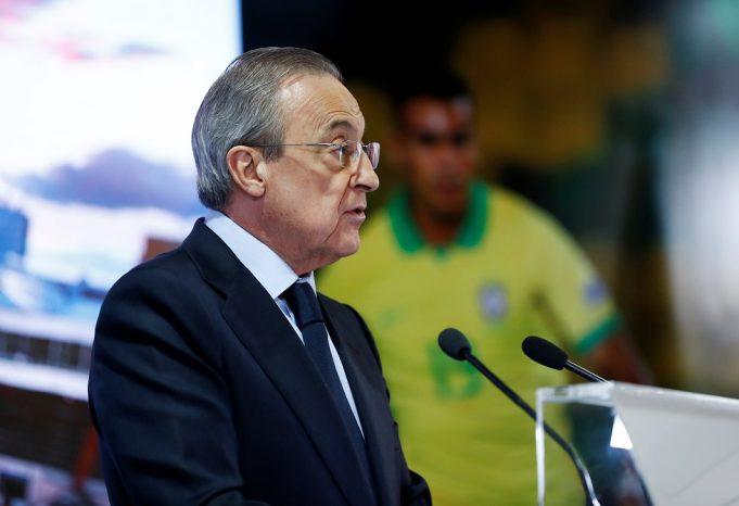 'Florentino Perez Never Loses' - La Liga President Brings Up ESL Plans