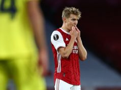 Martin Odegaard is happy at Arsenal amid Real Madrid exit talk