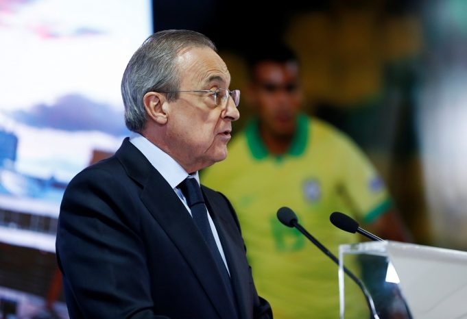 Florentino Perez fires warning to all English clubs over ESL