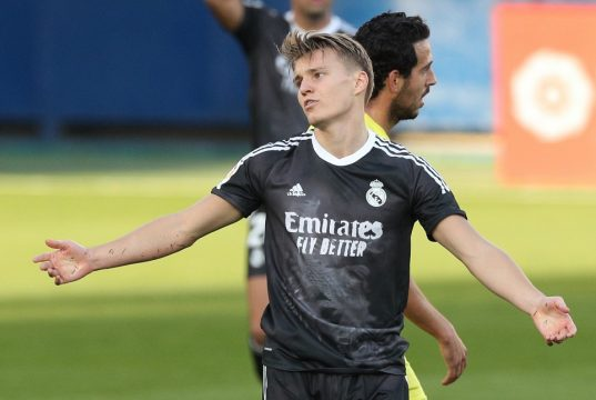 Martin Odegaard hoping to get a new life under Carlo Ancelotti